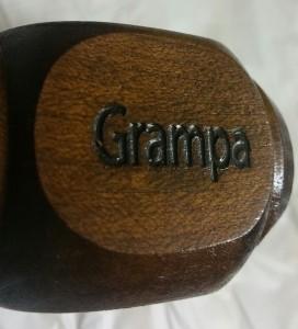 Grampa Engraving